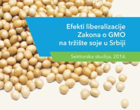 Efekti liberalizacije Zakona o GMO na tržište soje u Srbiji