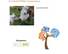 СЕКТОРСКА АНАЛИЗА ПРОИЗВОДЊЕ И ПРЕРАДЕ МЕСА У РЕПУБЛИЦИ СРБИЈИ